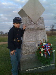 Jon at Sickles Monument.jpg