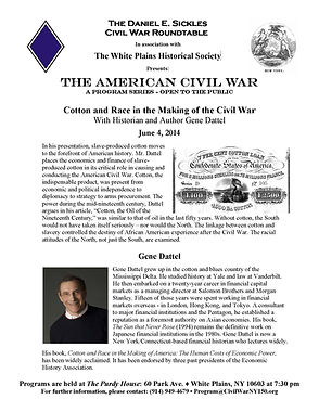 Cotton and Race in Making the Civil War.