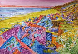 Rock and Driftwood, Cromer Coastline