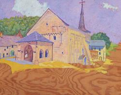 The Village Church at Romainmôtier