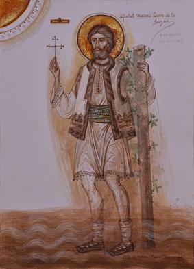 Holy Martyr Sava from Buzau