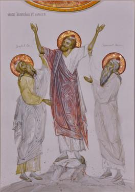 Moses defeating Amalek