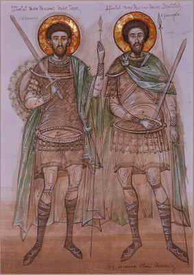 The Holy Martyrs Teodor Tiron and Teodor Stratilat
