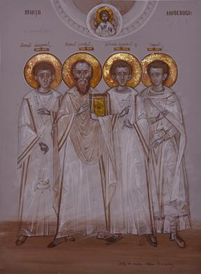 Holy Martyrs Donat, Romul, Silvansi and Venust