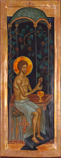 Jesus Christ and The Vine Tree