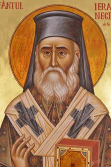 Saint Nectarios of Aegina (detail)