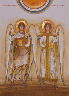 Holy Archangels Michael and Gabriel