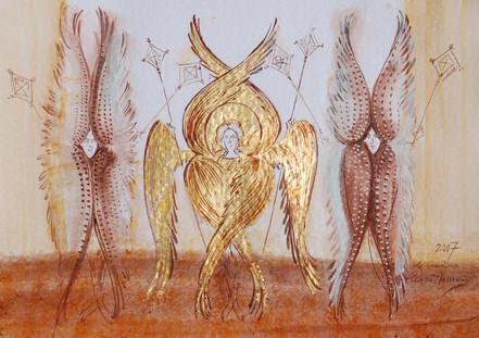 Seraphims and Cherubims Angels