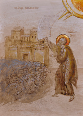 The repentance of the Ninevites