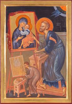 Saint Apostle Luke painting Mother of Go
