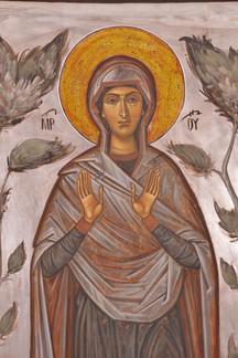 Mother of God (detail)