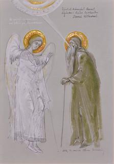 Holy Archangel Gabriel and Saint David the Thief
