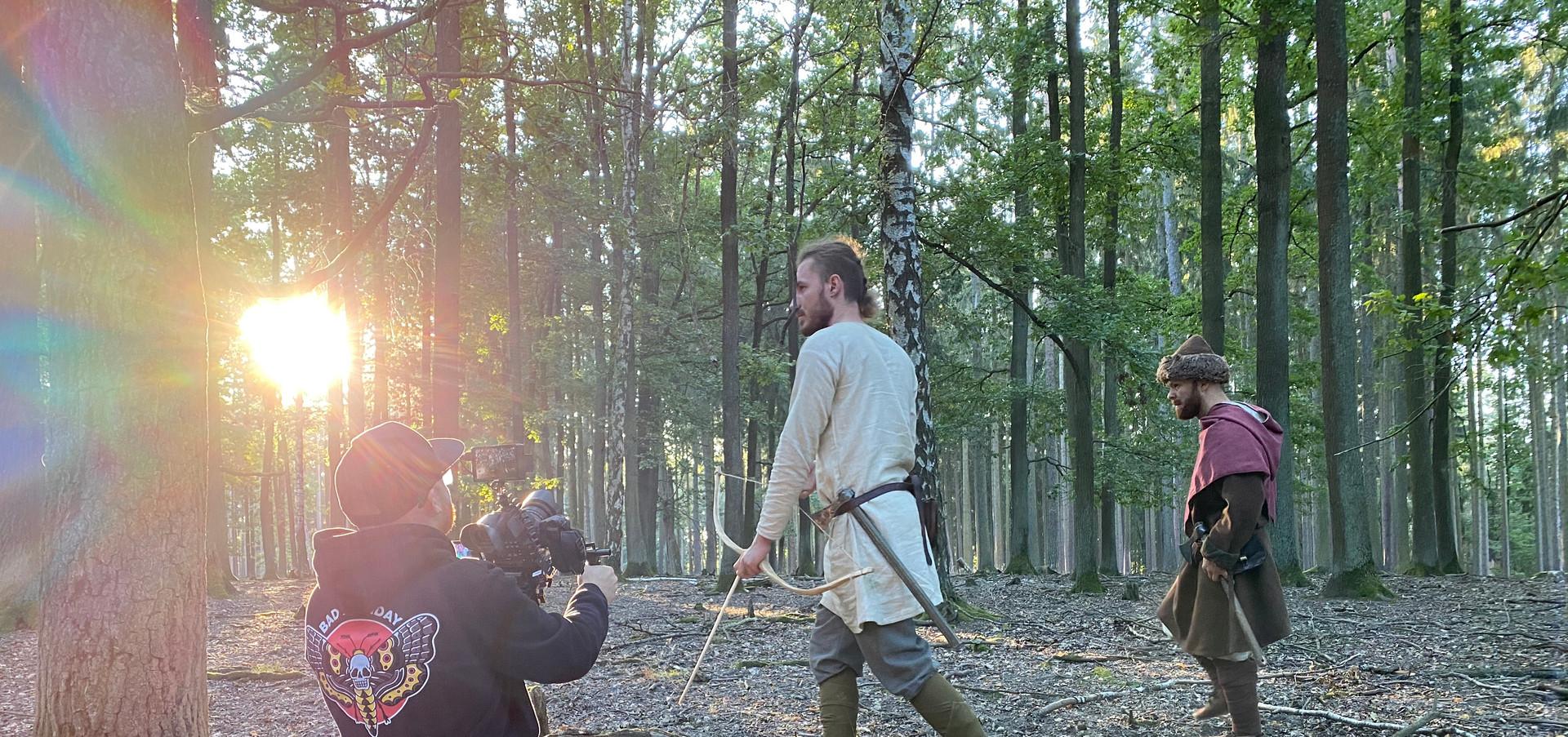 Foto z natáčení SLOVAN