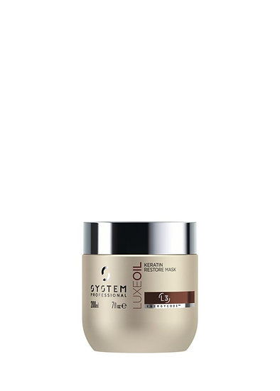 SP Energy Code LuxeOil Keratin Maske 200ml