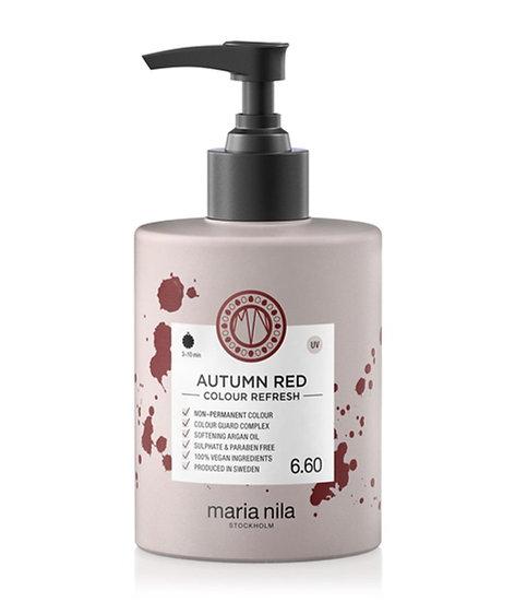 Maria Nila Colour Refresh Autumn Red 6.60