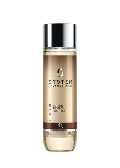 SP Energy Code LuxeOil Keratin Protect Shampoo 250ml