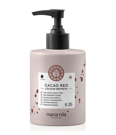 Maria Nila Colour Refresh Cacao Red 6.35