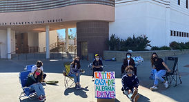 LatinX Student Club Casa Goods Drive 202