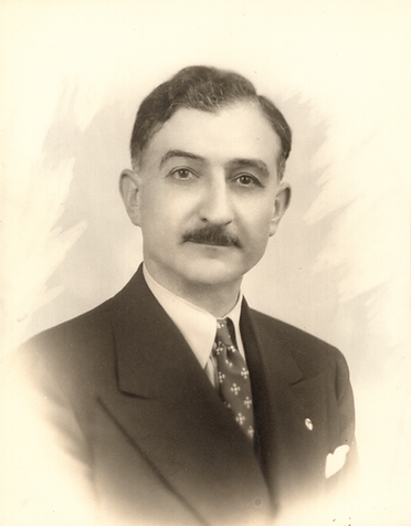 Arab American newspaper publisher Salloum Mokarzel