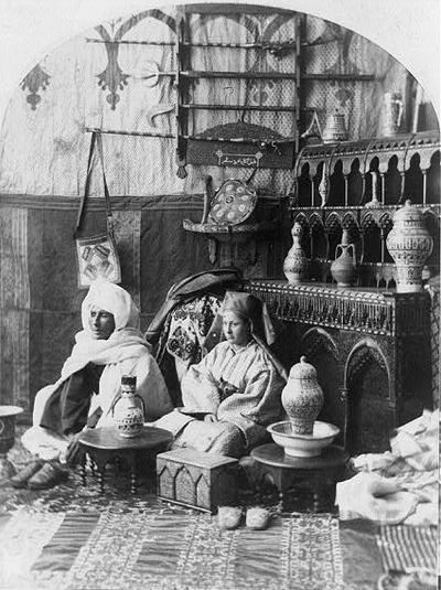 """Moors"" at the Centennial International Exhibition, 1876. Philadelphia, Pennsylvania. Library of Congress."
