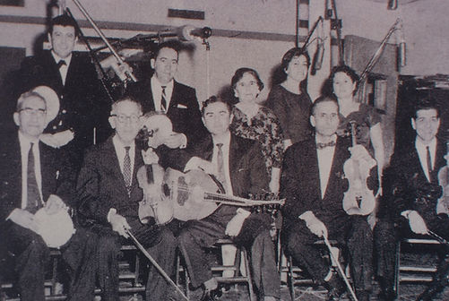 "Oud player Anton ""Tony"" Abdel Ahad and his bandmates"