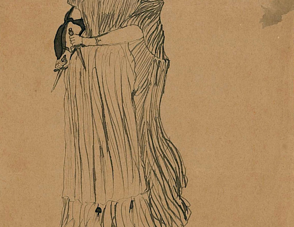 Ameen Rihani, Lady Macbeth, 1896. Ameen Fares Rihani Collection, Khayrallah Center Archive.
