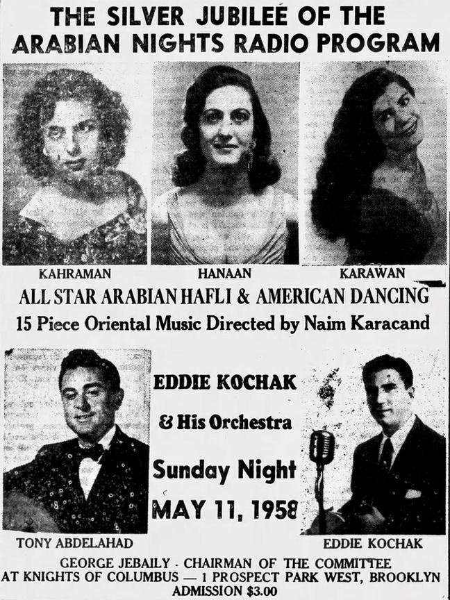 """""""The Caravan,"""" April 24, 1958"""