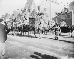 Parade of the Arabian Circus, World's Columbian Exposition, 1893. Library of Congress.