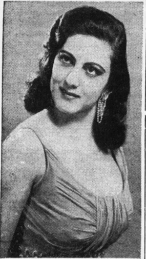 Arab American singer Kahraman or Olga Agby