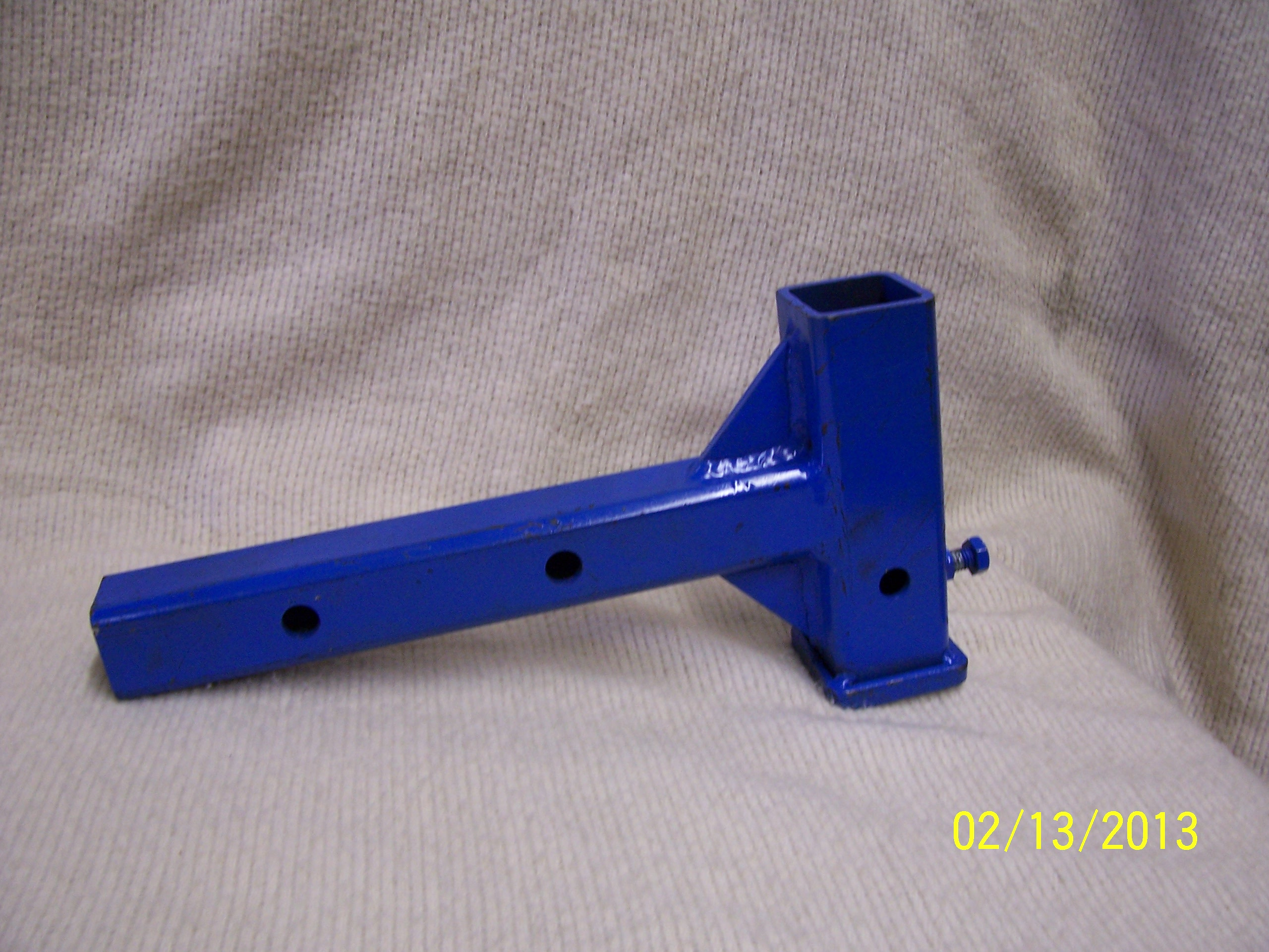 Short Drop Receiver with 8 inch tube Part # ADES1S