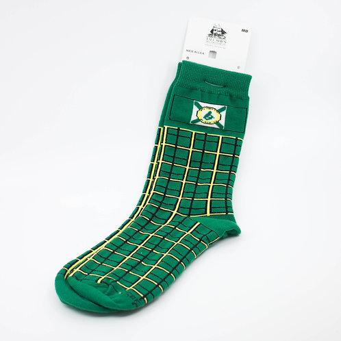 Cape Breton Flag Tartan Socks