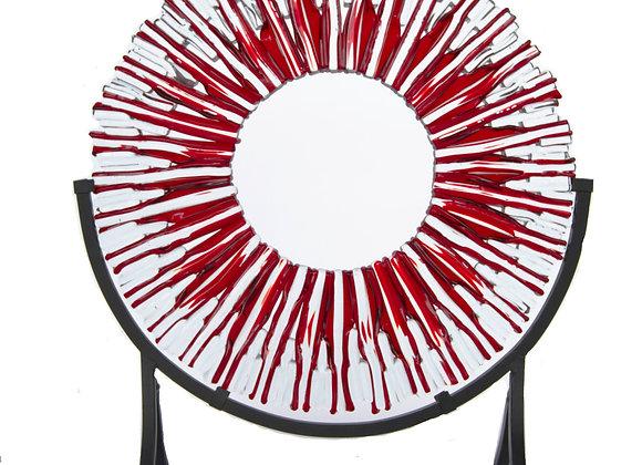 "Ruby Red Suncatcher 14"""