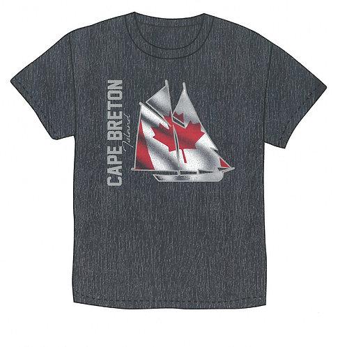 Cape Breton Island Silver Flag