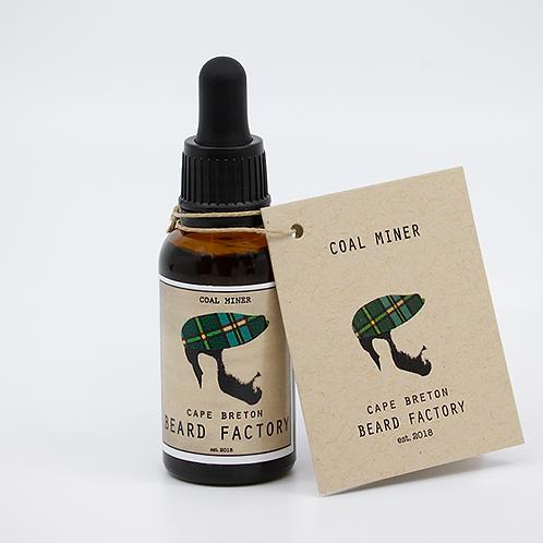 Coal Miner Beard Oil