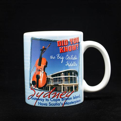 World's Largest Fiddle Mug