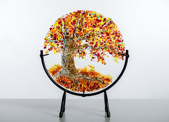 "8"" Tree of life plus Stand - Left Side"