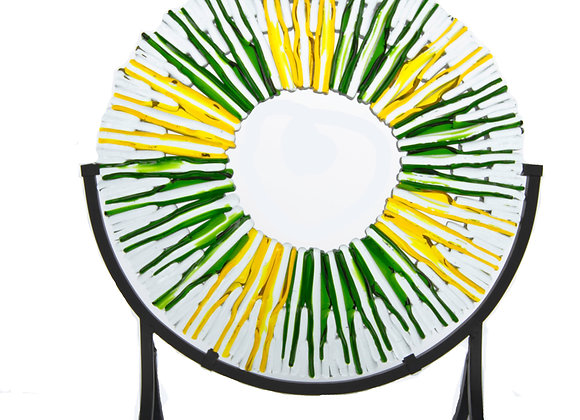 Yellow Green Suncatcher 14""
