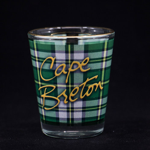 Cape Breton Tartan Shot Glass