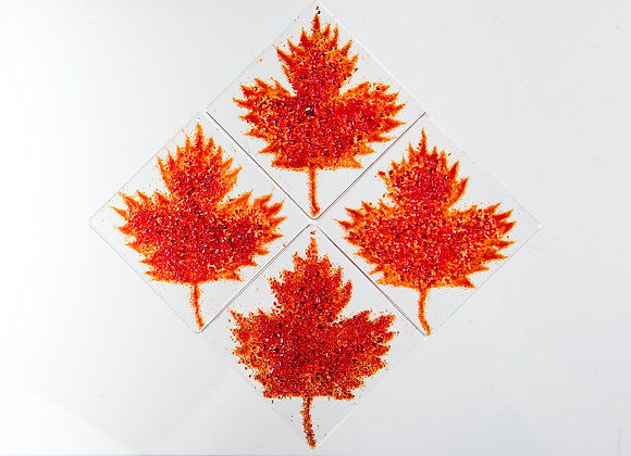 4 Maple Leaf design