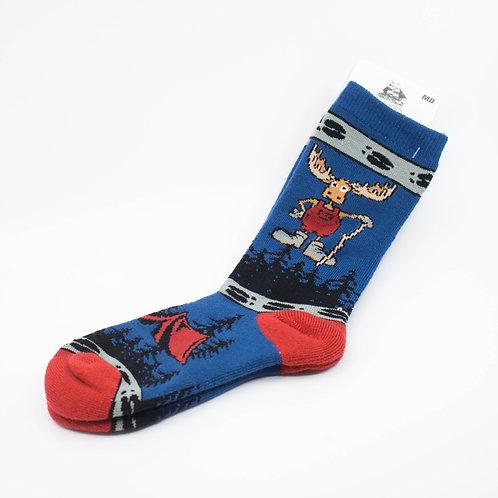 Moose Camper Socks