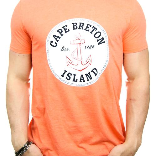 Circle Red Cape Breton Island Anchor