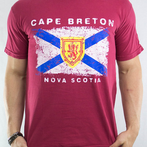 Cape Breton NS Eroded Flag
