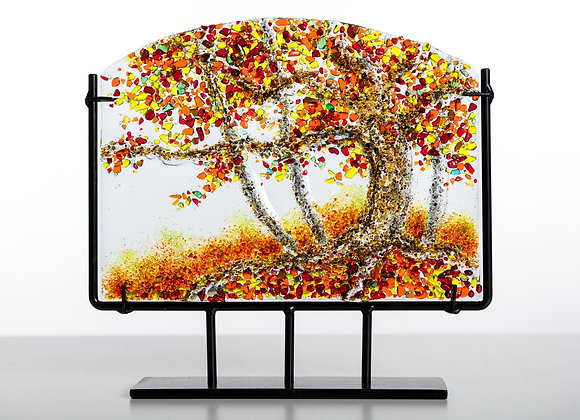 "Fall Trees of life 8x10"" - Stand Included"