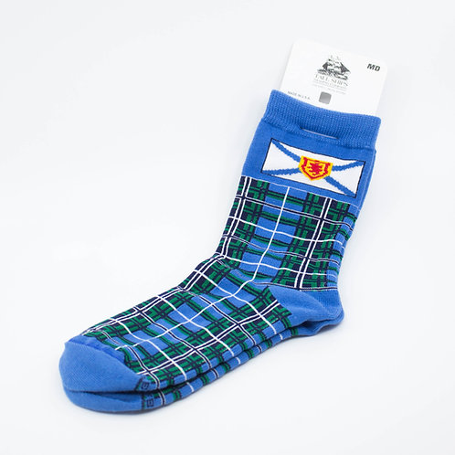 Nova Scotia Flag Tartan Socks