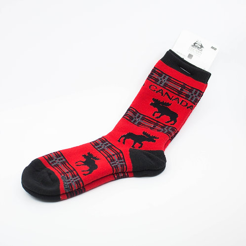 Canada Moose Socks