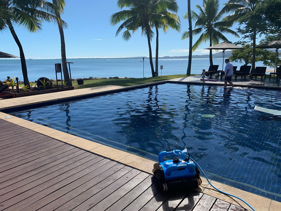 Bula! Robotic Pool Cleaner in Fiji