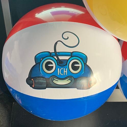 Robbie the Robotic Pool Cleaner - Beach Ball