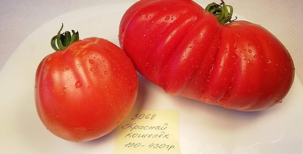 3068-  Sakiewka Czerwona / Красный кошелек