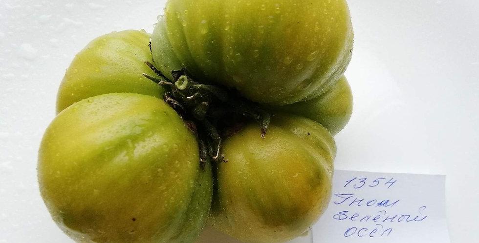 1354- Jackass green dwarf  / Гном Зелёный осёл