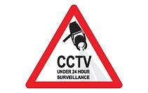 Security surveillance sign